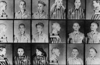 Więźniowie obozu koncentracyjnego